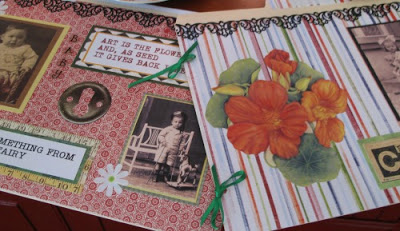 Embellished file folders for my cheap file folder idea with a dish drainer