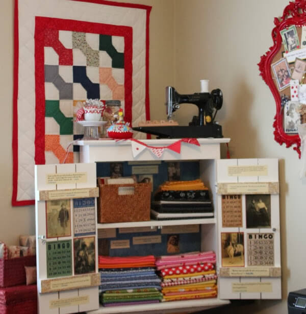 Decoupage Projects & An Office Cleaning