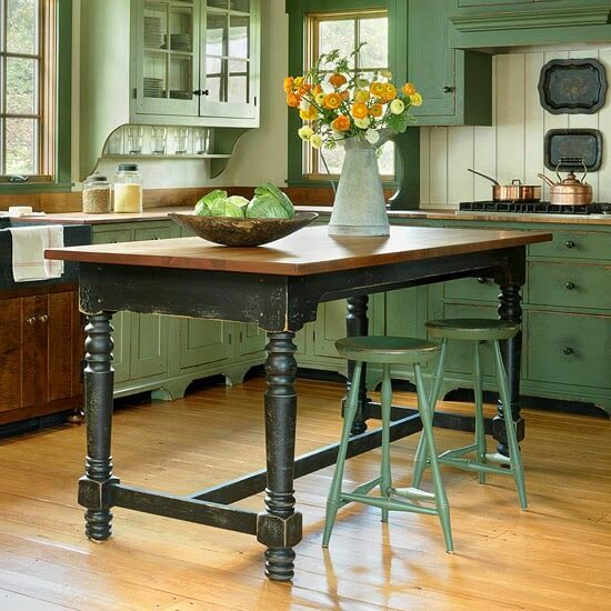 The Many Looks Of Kitchen Islands Cozy Little House