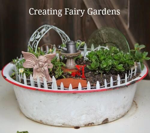 Creating Fairy Gardens