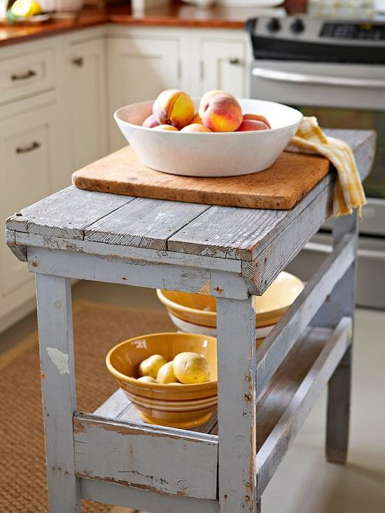 (I Would Love A Little Kitchen Island!)