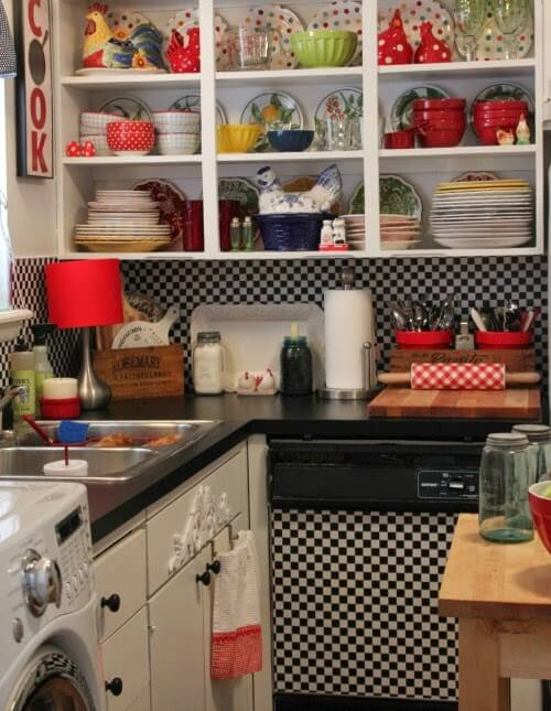 How To Change The Look Of Counter Tops With Contact Paper
