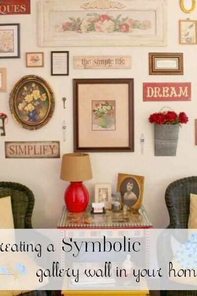 My Symbolic Gallery Wall