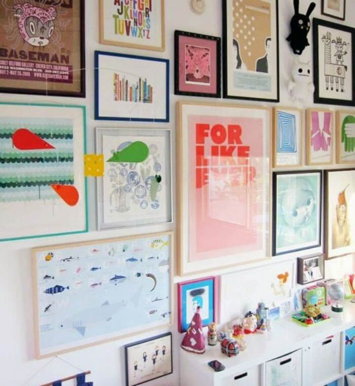The Art Of Wall Display · Cozy Little House