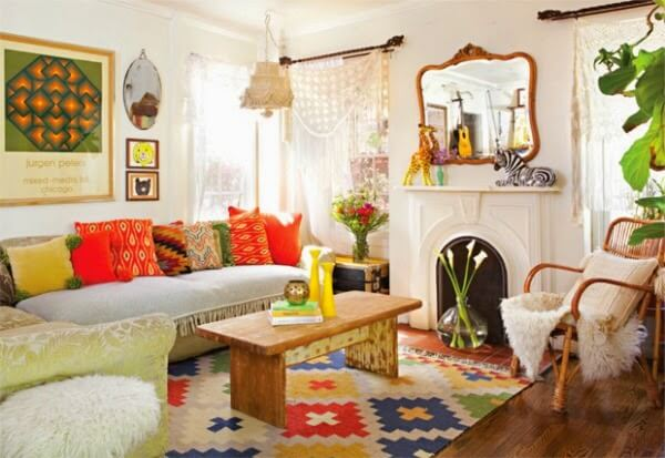 How To Create Bohemian Chic Interiors: Me? Liking The Bohemian Decor Lifestyle? · Cozy Little House