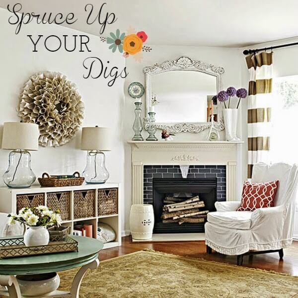 Cheap Ways To Spruce Up Your Home