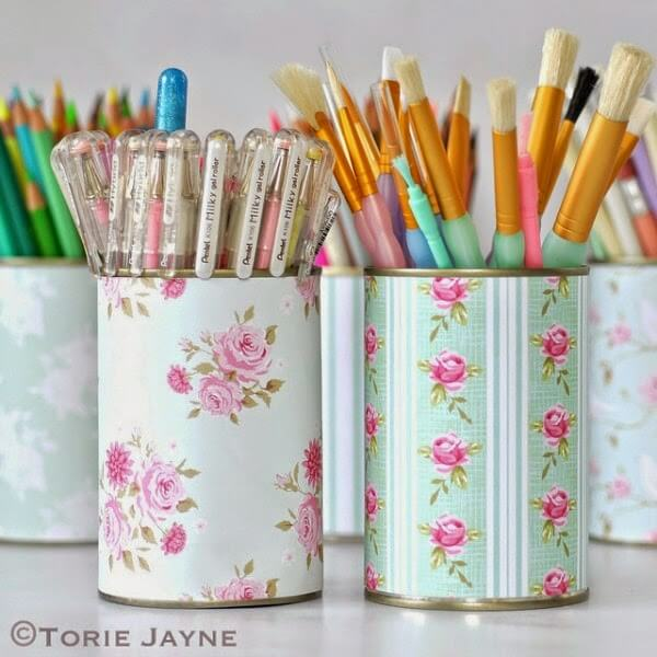 Frugal Crafts: Don't Throw Out Those Cans