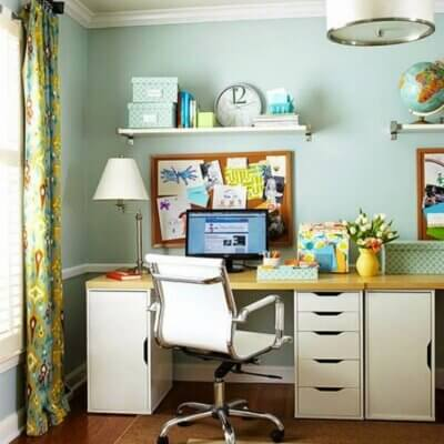 Organized & Appealing Office Spaces