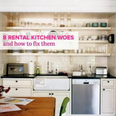 8 How-To Ideas For Rental Kitchens