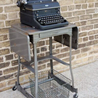 Vintage Typewriter Carts: Guest Post