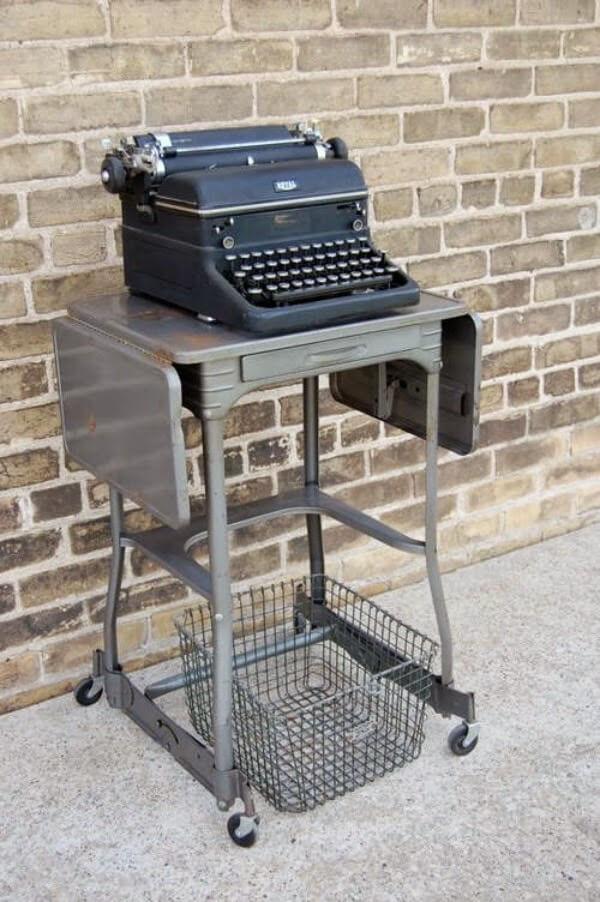 Vintage Typewriter Carts: Guest Post