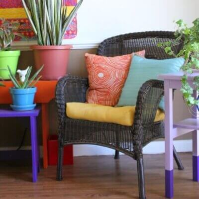 Urban Jungle Bloggers: Green Easter Styling