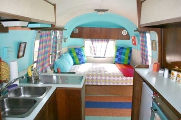 living simply part 2 the airstream cozy little house