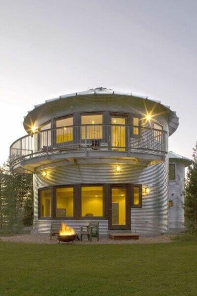 A Silo House