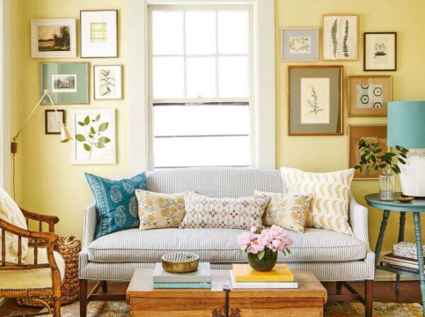 Cozy Comfy Small Space Living Rooms