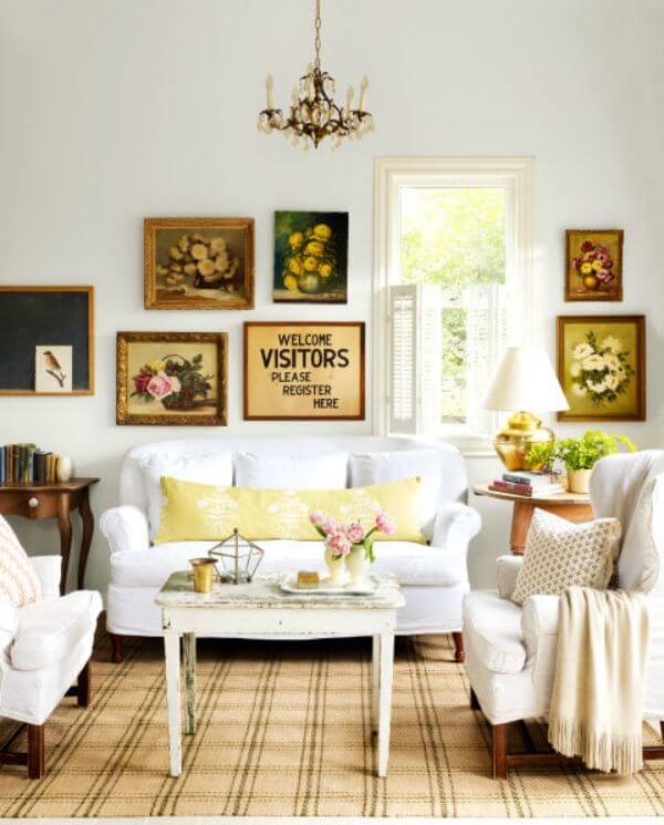 This Room Has A Whimsical Look With The Bright Pillows And Funky Chair Little Bohemian Love Striped Rug