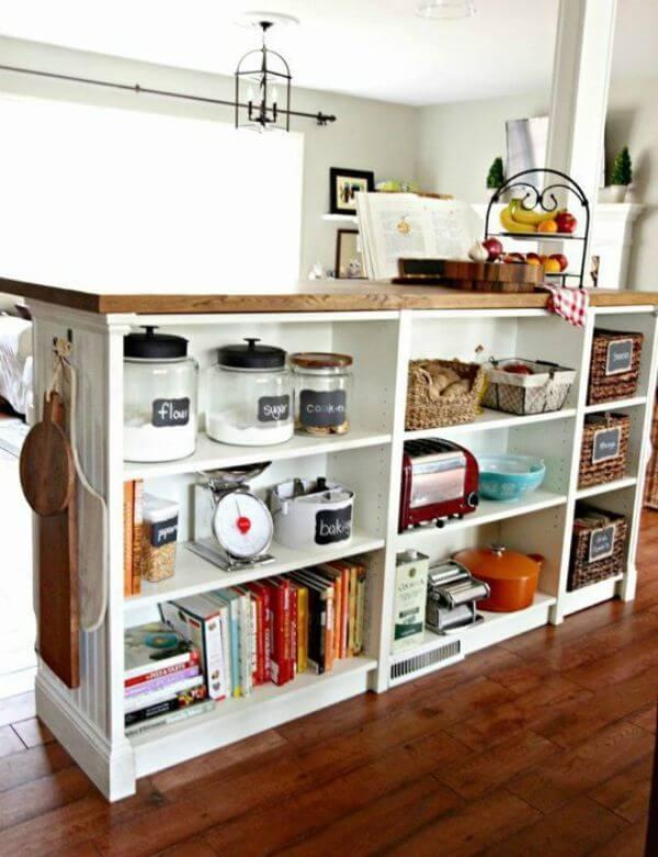 10 Creative & Cheap Kitchen Islands · Cozy Little House