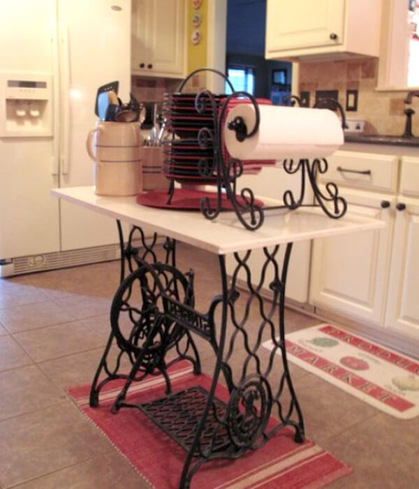 Affordable Kitchen Island: 10 Creative & Cheap Kitchen Islands · Cozy Little House