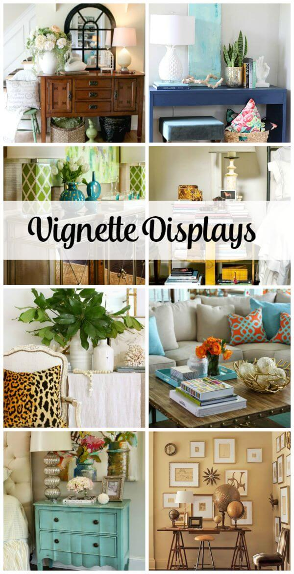 Charmant Creating Vignette Displays