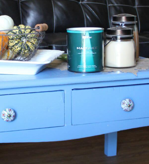 My New Coffee Table & Behr Paint