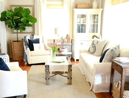 Ideas For Small Living Room Furniture Arrangements · Cozy
