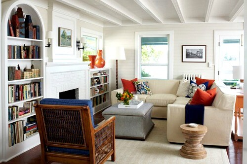 small living room furniture. A tip when decorating a small space is to use furniture with legs  This helps visually open up the Ideas For Small Living Room Furniture Arrangements Cozy Little House