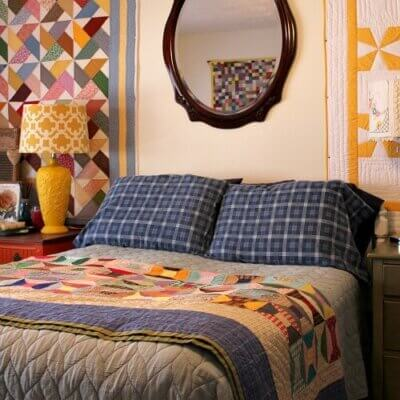 The Proper Way To Hang A Quilt