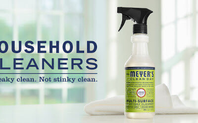 My Review Of Mrs. Meyer's Household Cleaners