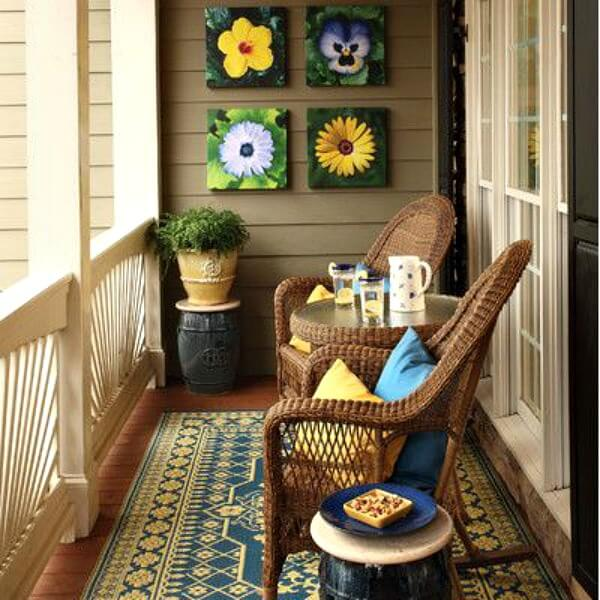 5 Inspirational Small Apartment Patios