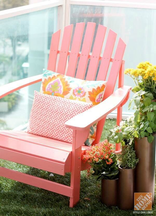 5 Inspirational Small Apartment Patios - Cozy Little House