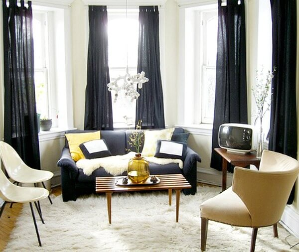 Where To Put The TV In Small Living Spaces Or Apartments · Cozy ...