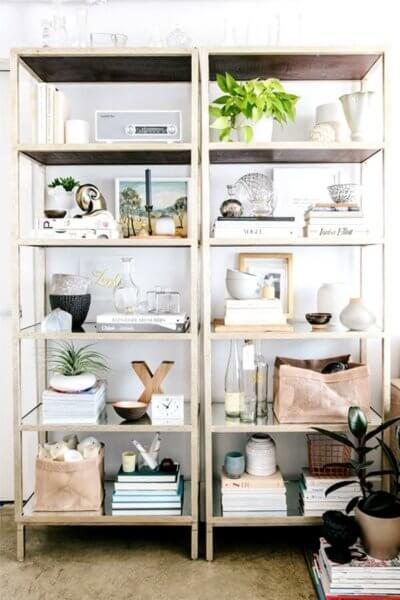 Tips On Styling Bookshelves