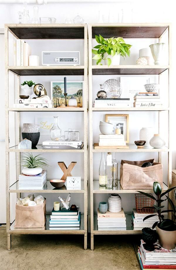 Tips On Styling Bookshelves