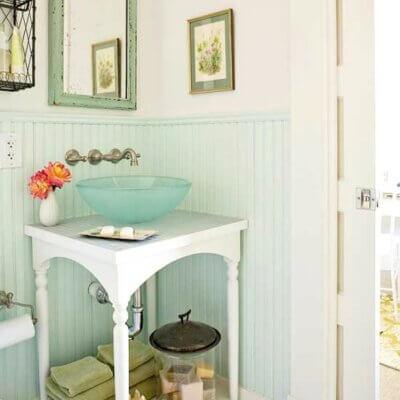 Six Small Space Bathroom Ideas