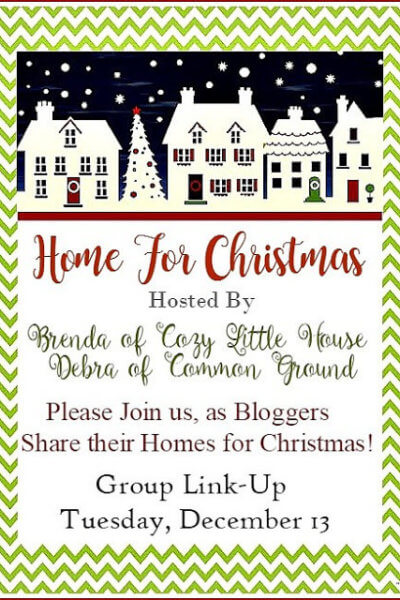 Home For Christmas Blogger Party Link Up Announcement
