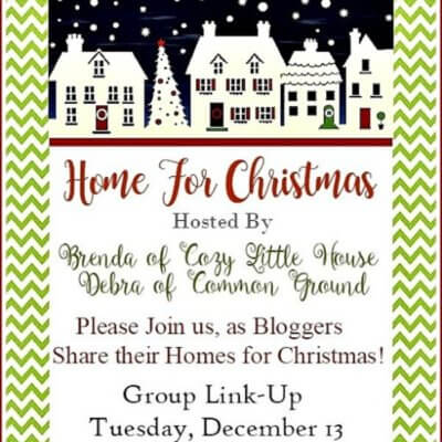 Home For Christmas Link-Up Party