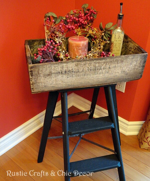 Tips For Using Ladders In Your Home Decor