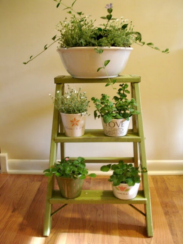Tips For Using Ladders In Your Home Decor · Cozy Little House