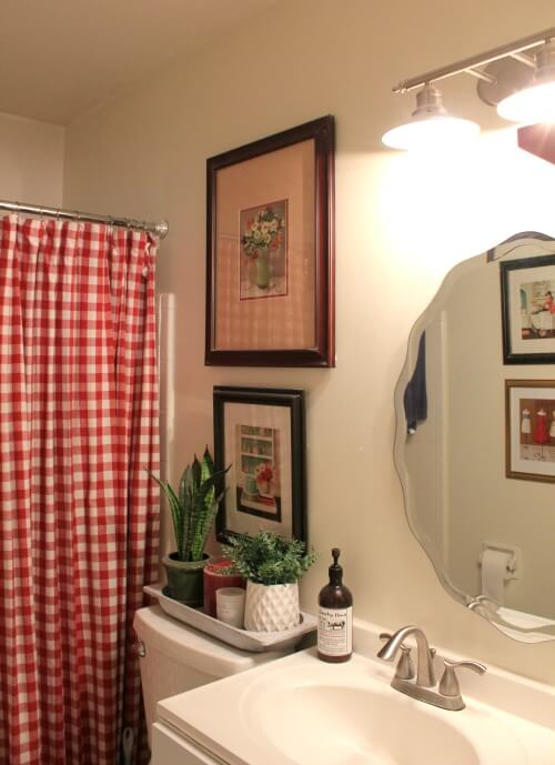 How To Redo Your Rental Bathroom On A Budget Cozy Little House - I need to redo my bathroom
