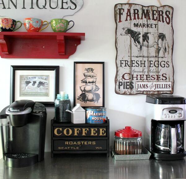 A Dough Bowl & A Coffee Box