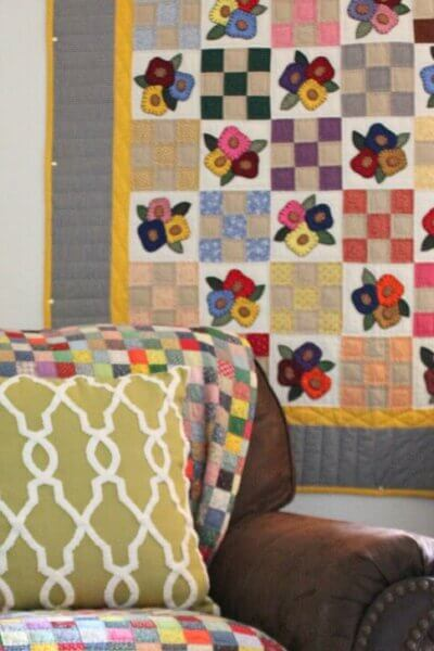 Bringing In The Quilts