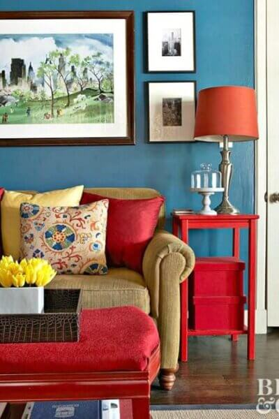 Colorful Condo Tour