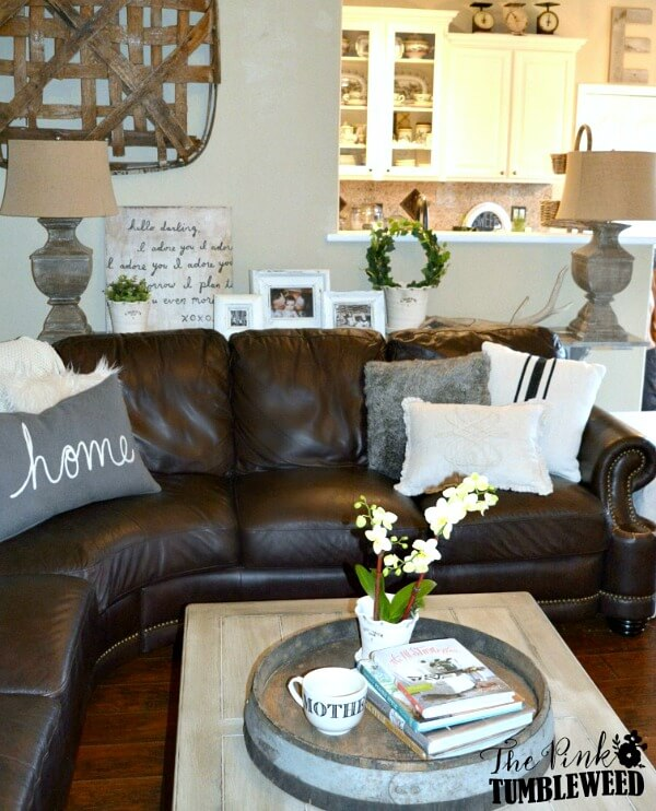 Tips For Decorating With Leather Furniture Cozy Little House