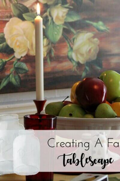 A Tablescape Of Fall Colors