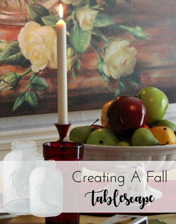 Create A Tablescape Of Fall Colors