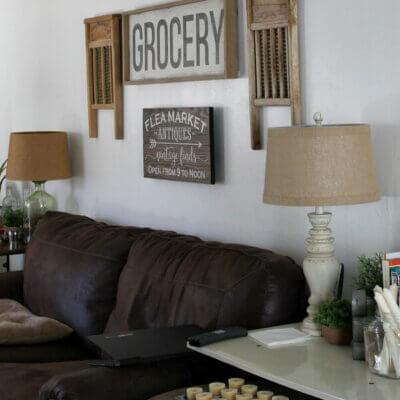 A Few Living Room Additions