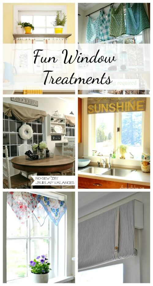 6 Frugal Unique Window Treatments Cozy Little House