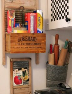 Using Vintage Containers For Decorative Storage