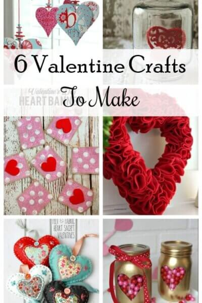 6 Fun Valentine's Crafts To Make