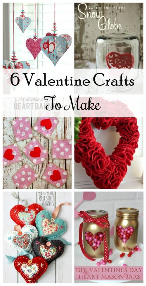 6 Fun Valentine's Crafts To Make